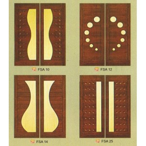 SOLID DECORATIVE DOOR FORMICA DOOR 4